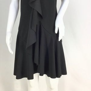Spense Dresses - NWT Black Front Ruffle Chest to Hem Dress See pic